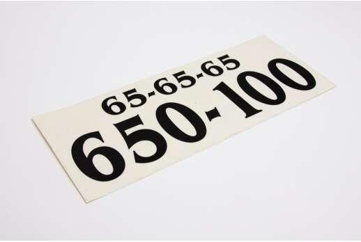 Наклейка для службы такси