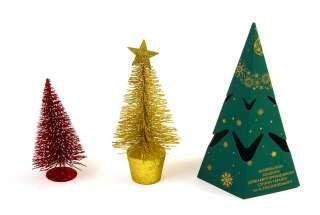 Поздравление с Новым годом - открытка елочка