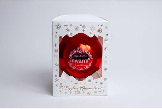 Упаковка для новогодних игрушек 140*105*105 мм