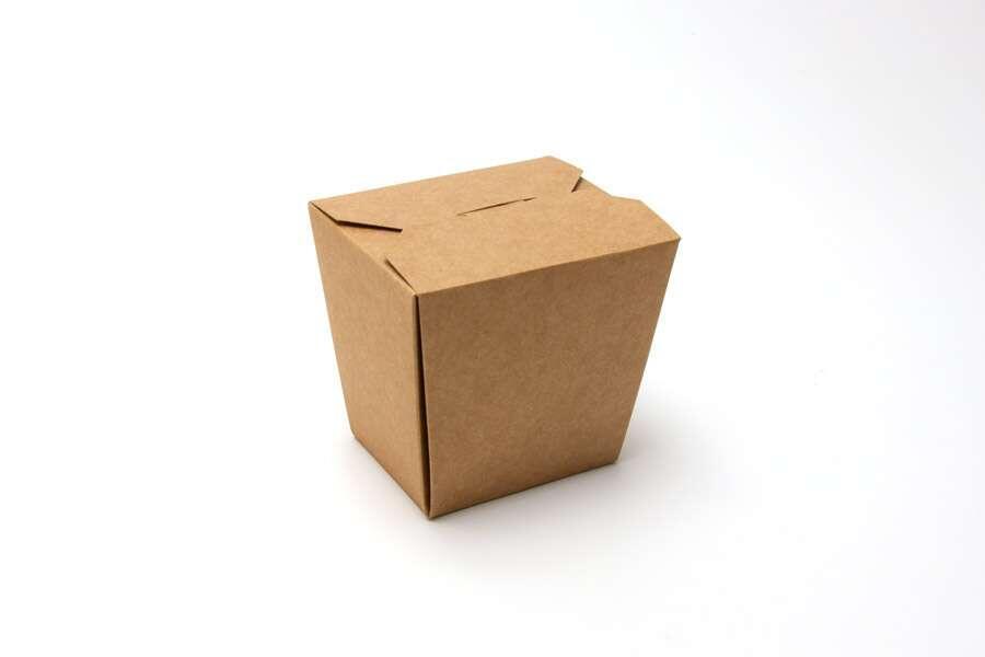 Упаковка для лапши крафтовая