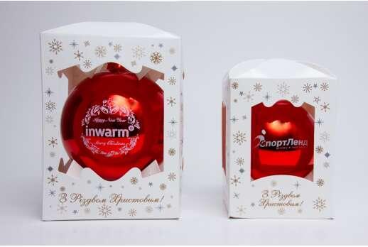 Упаковка для елочных шаров