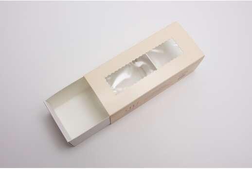 Упаковка для макарон 140*55*45 мм