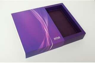 Упаковка пенал для ежедневника 245x190x50 мм