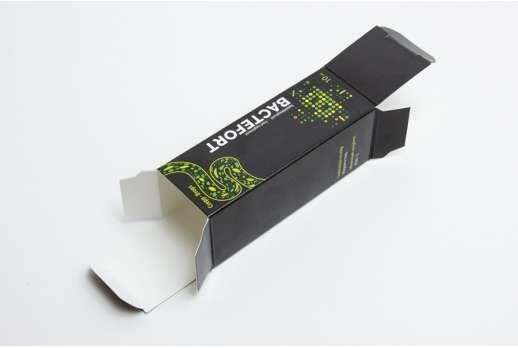 Картонная упаковка для БАД 110х35x35 мм