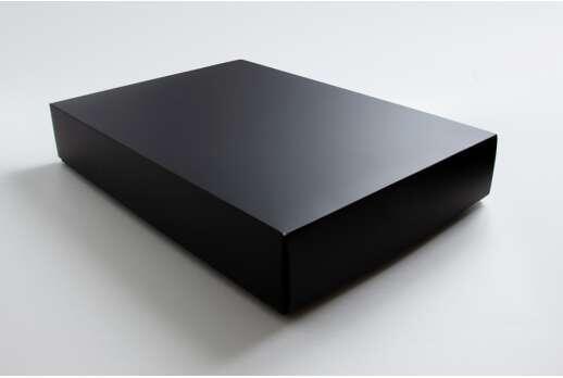Черная матовая коробка 230*340*50 мм