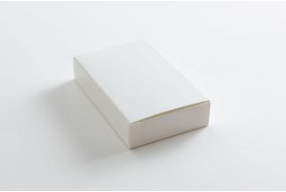 Белая картонная коробка 100*60*20 мм