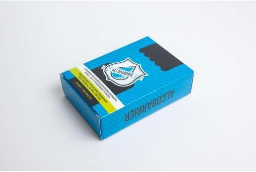Картонная упаковка для БАД 130*90*40 мм