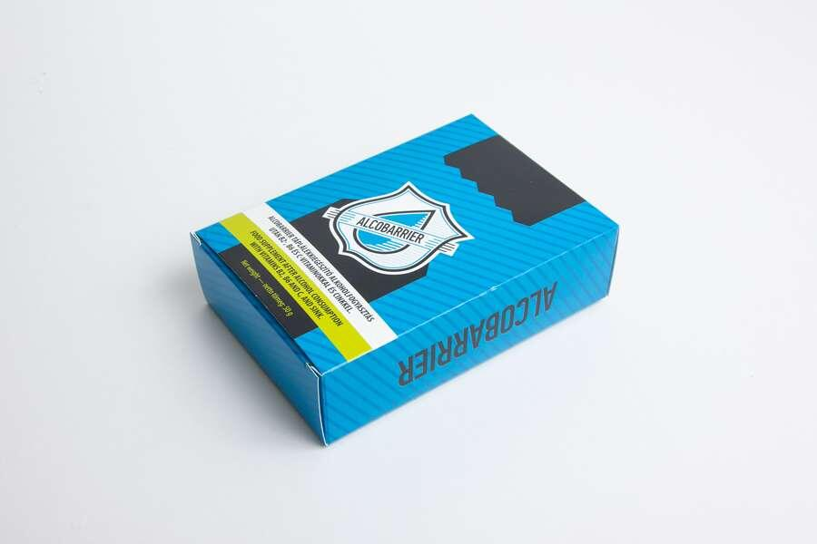Картонная упаковка для БАД (130*90*40 мм)