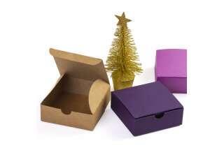 Коробка картонная цветная 83*83*30 мм