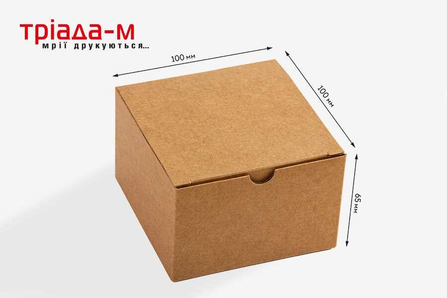 Коробка 100х100х65 мм