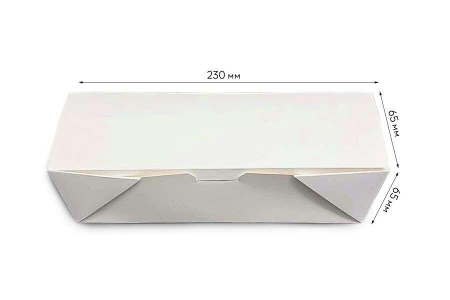 Картонная упаковка  для хот-дога 65х65х230 мм