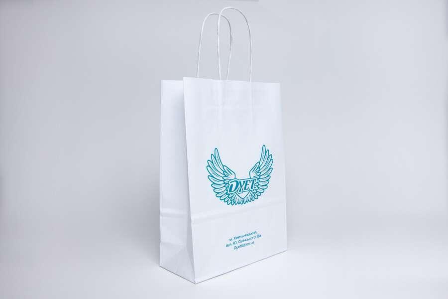 Белые крафт-пакеты