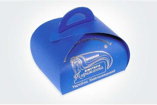 Упаковка-шкатулка для украшений 70x60х45 мм