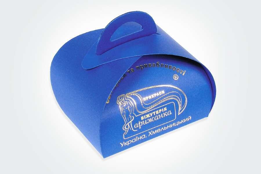 Упаковка-шкатулка для украшений