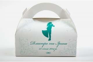 Коробка для свадебного каравая 160*80*145 мм