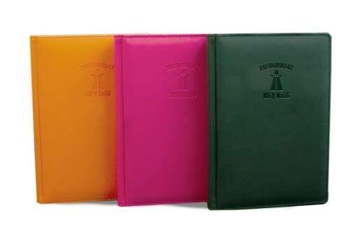 Бізнес щоденник з логотипом