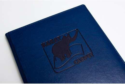 Деловой ежедневник с логотипом