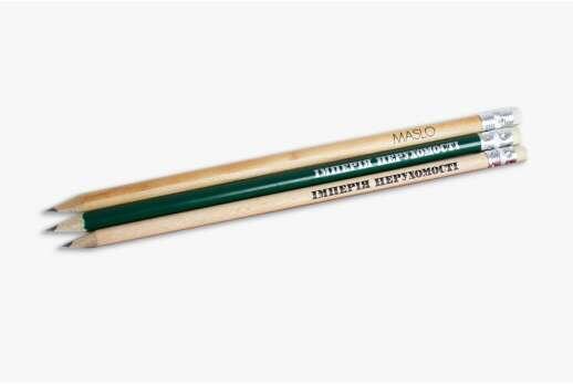 Эко-карандаши с логотипом