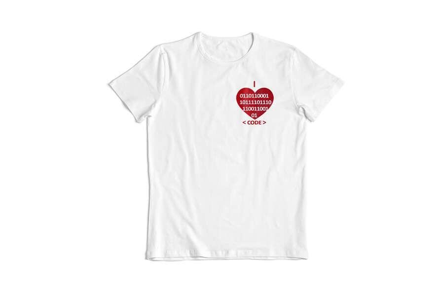 """ИT футболка """"I love code"""""""