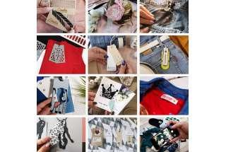 Бирки для одежды: виды и применение