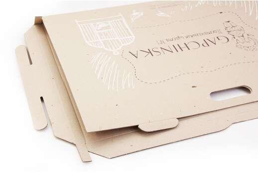 Коробка 245х245х25 мм