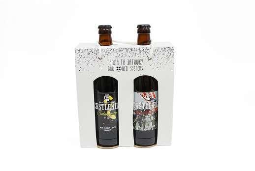 Упаковка для бутылок 118*200*60 мм