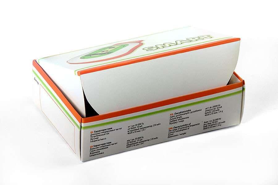 Складные картонные коробки