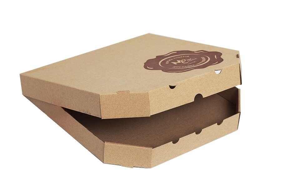 Упаковка для пиццы с логотипом